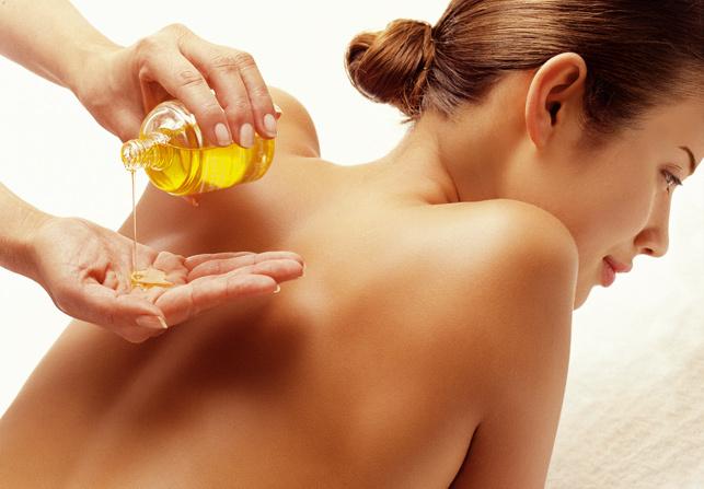 Resultado de imagen para masaje con aceite