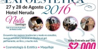 Sábado 27 Agosto, Talleres y Workshop en Expoestética Santiago
